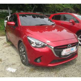 Mazda 2 R HB Sky Active 2015 AT MERAH METALIK
