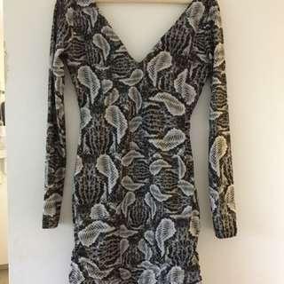 KOOKAI Snakeskin Dress