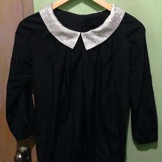 Black top full sleeves