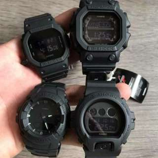 GSHOCK BLACK SERIES WATCH