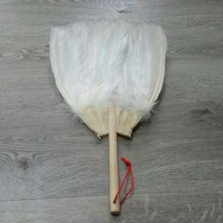 Feather fan from Taiwan