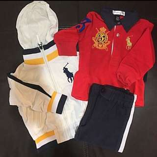 Polo Polo Pant Jacket Set