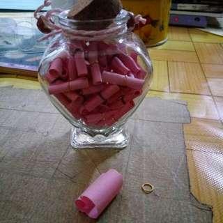 Glass bottle (Ideal for gift)