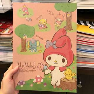 My melody note book