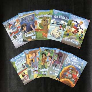 💥NEW-  Oxford Read and Imagine Level 1 (10 books Set) - Children Learning books