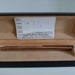 DuPont pen 1982 year