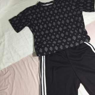 KEV printed shirt