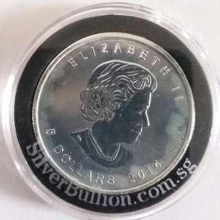 Canada coins 2014