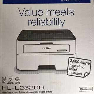 黑白雷射打印機