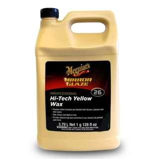 Meguiars M2601 High-Tech Yellow Wax 3.79L