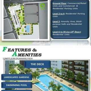 AMAIA SKIES SHAW RENT TO OWN CONDO UNIT STUDIO,  1BR
