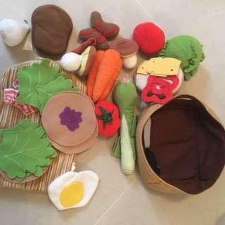 小朋友廚房用品/食物和廚具