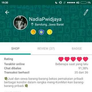 Find me on Prelo (@NadiaPwidjaya)! Barang² ter-update & keamanan transaksi terjamin!