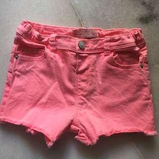 Zara babygirl  jeans short