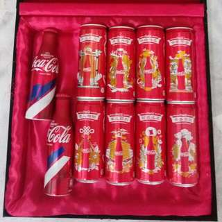 Coke CNY 2015 Fifa And Cap