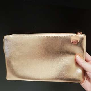 Rose Gold Pouch (~23×13cm)