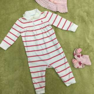 Ralph Lauren Sleepsuit for Girl