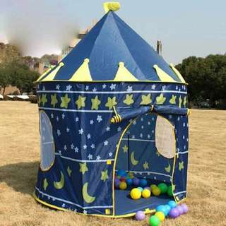 Portable castle tent for kids (RS)