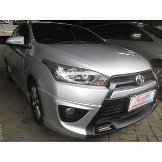 Yaris S TRD 2014 AT SILVER METALIK