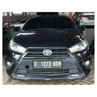 Yaris S TRD 2015 AT HITAM