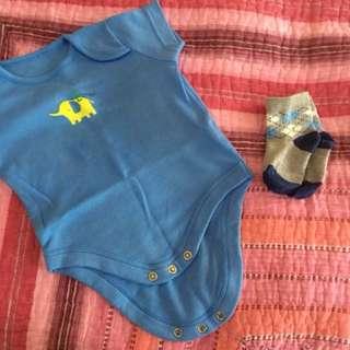 Baby Romper + Sock Morhercare