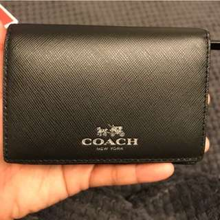 Coach Coin Purse Wallet Brand New Original Price USD 75.00
