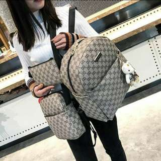 Gucci inspired 3inl backpack
