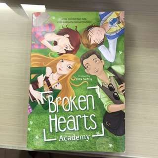 Novel Broken Hearts Academy
