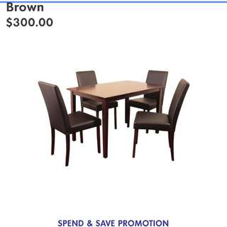5 piece dining set table