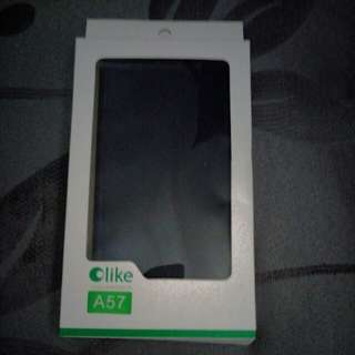BNIB Oppo A57 phone flip case cover
