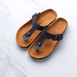 Sandal Birkenstock Gizeh SUPER Premium Black Men