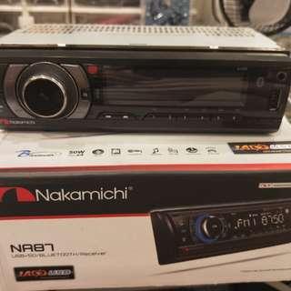 nakamichi汽車藍芽音響主機(自售)