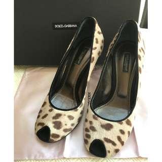 Dolce Gabbana heel shoes @Size 37
