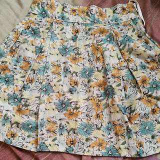 Jellybean Floral Skirt