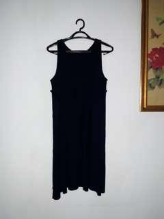 Dress biru tua