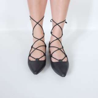 Ballerina Black Shoes
