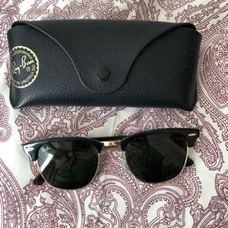 CLUBMASTER AUTHENTIC Ray Ban Sunglasses