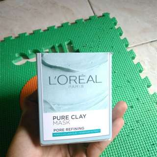 Loreal Pure Clay Mask (PORE REFINING)