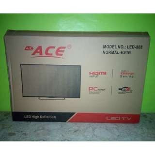 "Ace 32"" Slim LED TV Black LED-808 DN4"