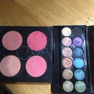Blush and Eyeshadow Palette Bundle
