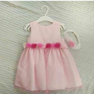 Pink dress (18mos)