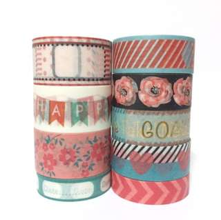 Recollections Washi Samples Set 16