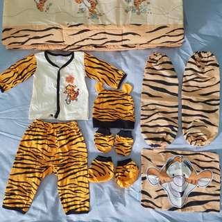 Tigger Bedding and Pyjama Set