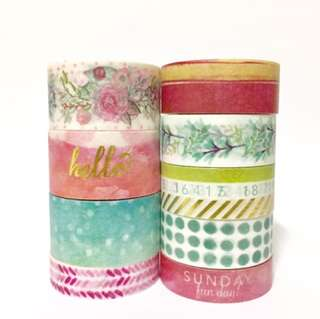 Recollections Washi Samples Set 17