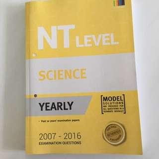 Science 10year Series (NT)