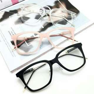 Kacamata gaya berlensa minus, silinder / antiradiasi