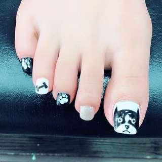 CNY Nail Designs (Pedicure)