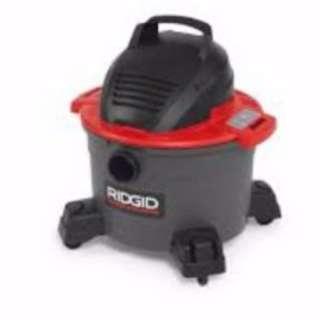 Ridgid 6 RG55413 Gallon Wet and Dry Vacuum Cleaner