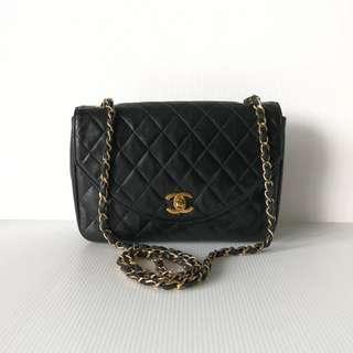 Authentic Chanel Curve Flap Bag