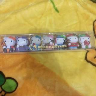 Set Hello Kitty Limited Edition Figures
